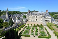 France, Indre et Loire, Loire Valley listed as World Heritage by UNESCO, Langeais, Chateau de Langeais