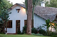 Tanzania, Arusha region, Ngorongoro District, The Plantation Lodge is a charming lodge located in Karatu, near the Ngorongoro Crater