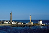 France, Finistere, Penmarc´h, Pointe de Penmarc´h, Eckmuhl Lighthouse