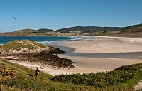 Spain, Galicia, beaches lire, and of course very nemine Tourinan