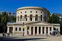 France, Paris, the Rotunda of La Villette by the architect Claude Nicolas Ledoux