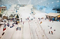 Ski Dubai, Mall of the Emirates, Dubai City, Dubai, United Arab Emirates, Middle East.