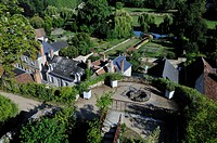 France, Indre et Loire, Loire Valley, Montresor, labeled Les Plus Beaux Villages de France The Most Beautiful Villages of France, Castle of Montresor,...