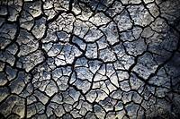 Dried mud, Serengeti, Tanzania, Africa