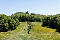 Guegel pilgrimage church, Schesslitz, Little Switzerland, Upper Franconia, Franconia, Bavaria, Germany, Europe