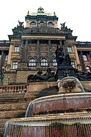 Czech Republic National Museum was founded in 1818 in Prague. The main building is at the upper end of Wenceslas Square, built in neo_renaissance styl...