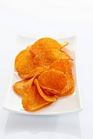 Paprika potato chips