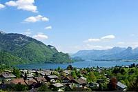 St. Gilgen on Lake Wolfgang, Salzkammergut, Salzburg, Austria, Europe, PublicGround