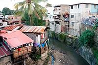 Slum scene