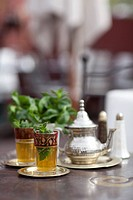 Moroccan Mint Tea, Marrakech, Morocco