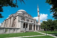 magnificent Suleymaniye mosque in Istanbul, Turkey