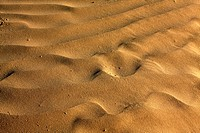 Beach Sand Patterns for Nature background