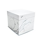 illustration of cool gift box on the white background