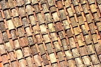 Pantiles roof texture for background