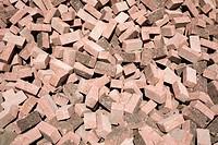 A staple of bricks