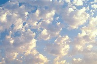 Cloud filled sky, nature stock photography