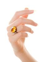 Amber ring beckoning
