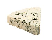 Blue cheese with clipping path