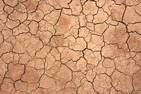 Top view shot of cracked soil