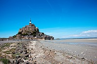 Mont St. Michel in Normandy France