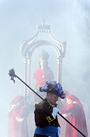 Europe, France, Var, 83, St  Tropez, the bravado parade