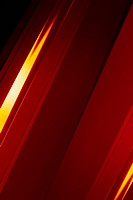 Full frame abstract of red shape