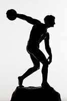 Statue of a discus thrower