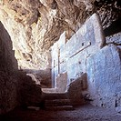Ancient cave dwellings in Tonto National Park, Arizona