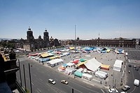 A market at Zocalo, Mexico City, Mexico (thumbnail)