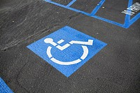 Disabled parking space (thumbnail)
