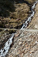 A hiking trail crossing a stream, Tirol, Austria (thumbnail)