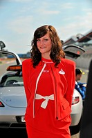Grid Girl, British Grand Prix, Silverstone, England