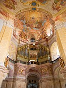 Interior of Pilgrimage Church of the Name of Virgin Mary