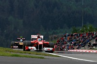 Jaime Alguersuari, Fernando Alonso, Friday Pratice, Formula One, German Grand Prix, Nurburgring, Germany