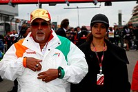 Vijay Mallya, Formula One, German Grand Prix, Nurburgring, Germany