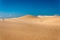 Sand dunes in Mui Ne, Vietnam, Southeast Asia, Asia