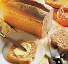 Hearty whole meal bread, tin loaf, New Zealand, recipe available for a fee