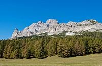 Tre Cime di Lavaredo or Drei Zinnen area, Sesto Dolomites, Italy, Europe