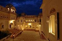 Alsisar Mahal Heritage Hotel, Alsisar, Shekhawati, Rajasthan, North India, India, Asia
