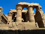 Hypostyle Hall. Kom Ombo Temple. Upper Egypt