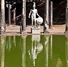 Villa Adriana in Tivoli _ Italy. Example of classic beauty in a roman villa.