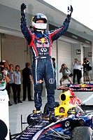 Race, Sebastian Vettel GER, Red Bull Racing, RB7 3rd position and World F1 Champion, F1, Japanese Grand Prix, Suzuka, Japan