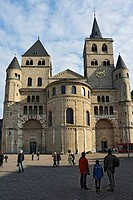 Trier Cathedral, Germany's oldest church, UNESCO World Heritage Site, Trier, Rhineland-Palatinate, Germany, Europe