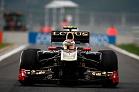 Race, Vitaly Petrov RUS, Lotus Renault GP, R31, F1, Korean Grand Prix, Yeongam, Korean.