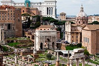 The Ancient Forum, Rome Italy