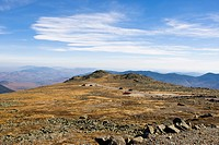 Mountain landscape, Mount Washington National Park, New Hampshire, USA