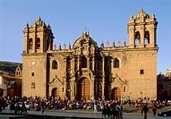 Peru Cuzco Cathedral