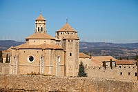 Poblet Monastery  Part of the Cistercian Route in Tarragona, Catalonia, Spain