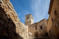 Church of Guimera, Village of Guimera, Lleida, Catalonia, Spain