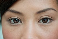 Young woman´s eyes, close_up